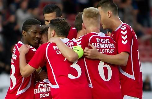 Fremad Amager – Vejle Boldklub (19-11-2017)