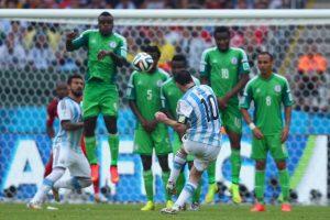 Argentina – Nigeria (14-11-2017)